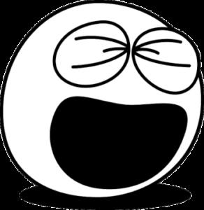 大笑いの顔 XDのイメージ